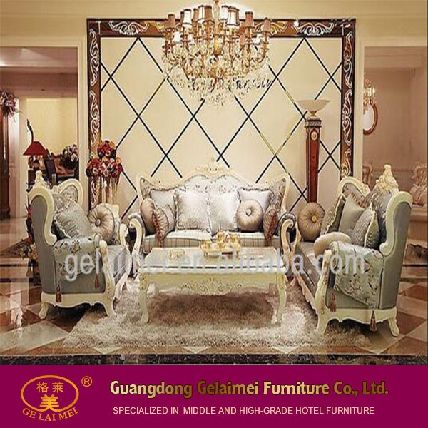 2016 nuovo design soggiorno di lusso in legno divano ad angolo ... - Ultimo Disegno Di Divano Ad Angolo