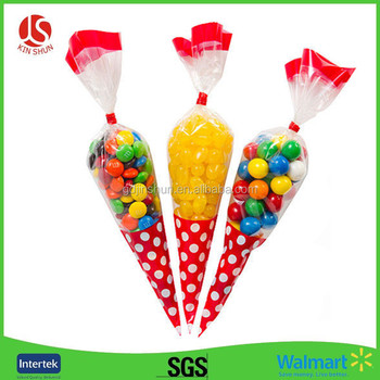 100 50pcs Cello Cellophane Cone Shaped Sweet Treat Display Gift Party Bags Buy Cellophane Cone Shaped Bags Clear Cone Shaped Cello Bags Plastic Bag