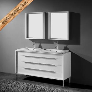 Fed 1231 60 Top Quality Solid Wood Bathroom Vanity Cabinet High