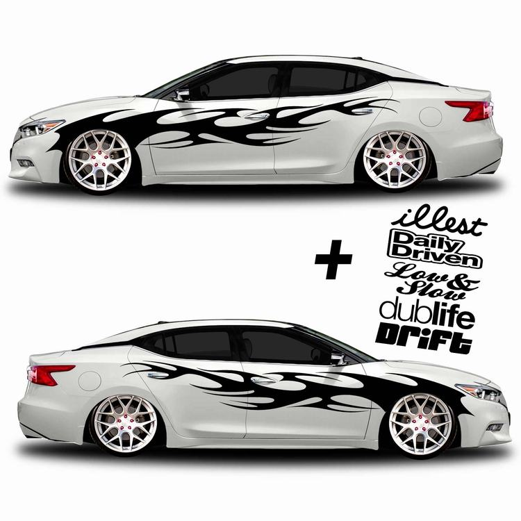 2019 New arrival sport car stickers sports sticker and decal