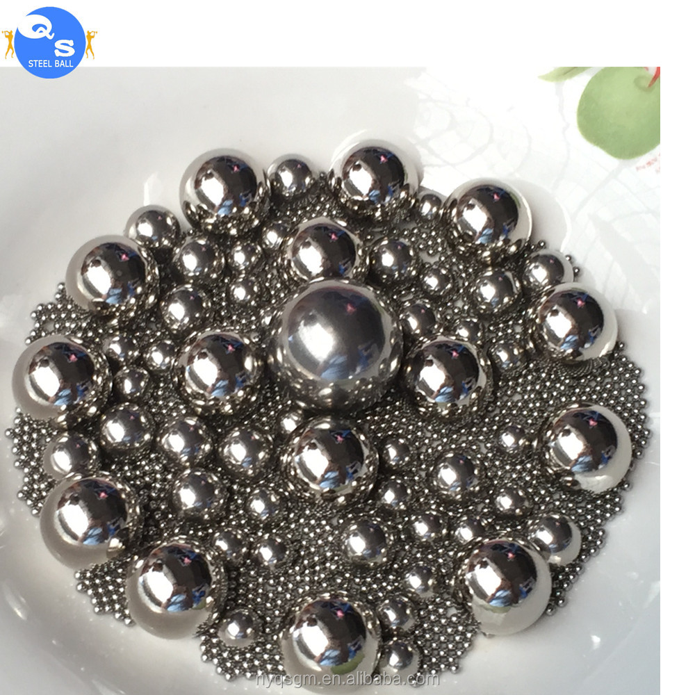 Good quality with enough stock 100CR6 7 / 32 inch bearing steel ball G16 G40 G60