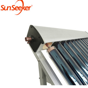 Lower price thermal super vacuum tube heat pipe solar collector for hot water heater collectors