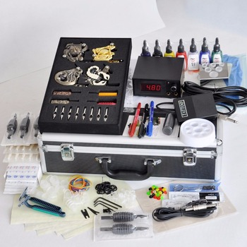 Hot Selling Professional Permanent Machine Tattoo Kit