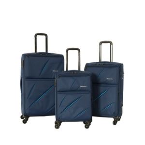 Cheap price 3 piece 4 wheels airport brand luggage bag travel trolley luggage