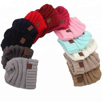 Baby Hats Trendy Beanie Crochet Fashion Beanies Outdoor Hat Winter Newborn  Beanie Children Wool Knitted Caps 79e31dc8d933