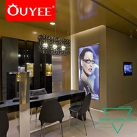 Optical Display Rods Eyeglass Counter Top Display Showcase Cabinet
