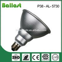 par 38 15w energy saving e27 12w led lighting bulb 2400k
