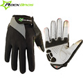 ROCKBROS Bicycle Gloves Touch Screen Non Slip Breathable Cycling Bicicleta Cycle Full Finger Ciclismo Luvas Glove