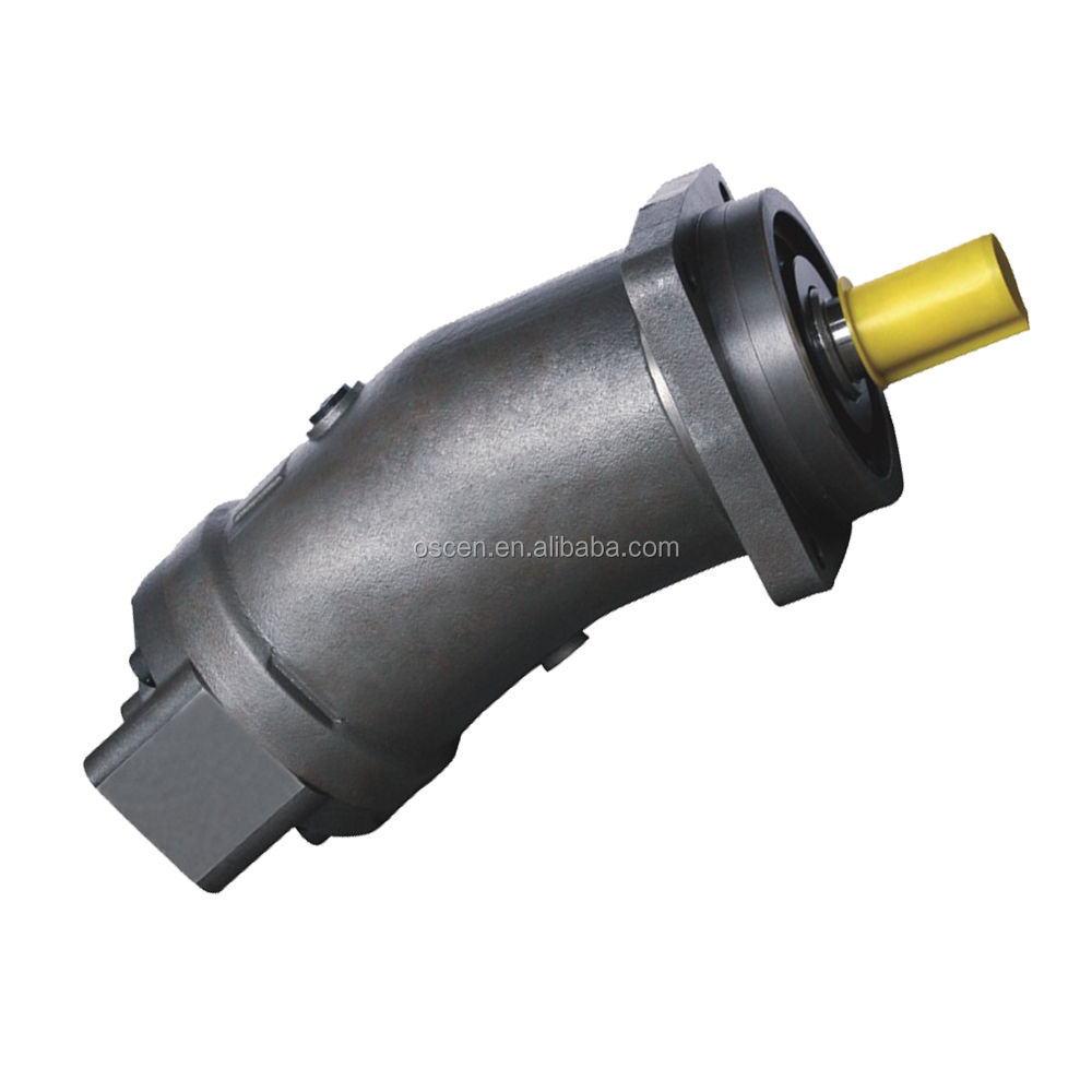 hydraulic fixed displacement axial piston bent pump plunger motor A2F A2F125