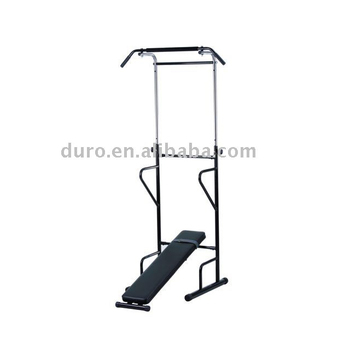 Home Gym Fitness Equipment Pull Up Power Tower Dipping Station Abs Crunch