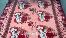 wholesale goods from china raw price silicone flannel fleece decoration material