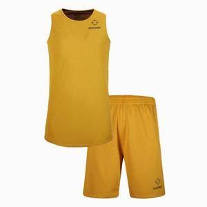 f51e28908 Old school basketball jerseys black and yellow colors basketball uniforms  reversible design men s basketball wearing sets