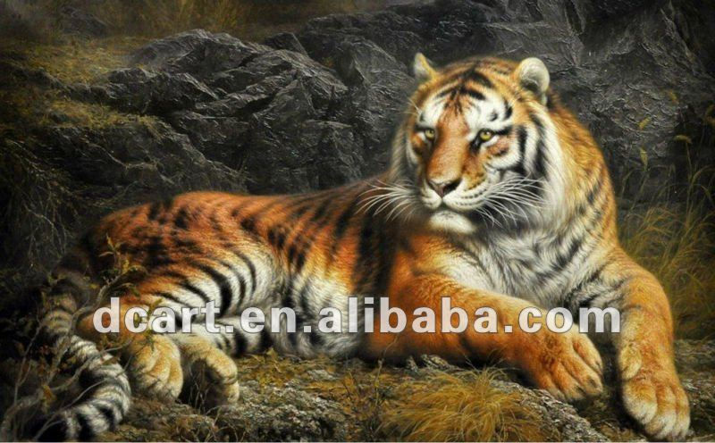 High Quality Forest King Oil Painting