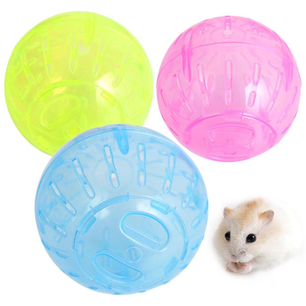 Pet Rodent Mice Jogging Hamster Gerbil Rat Toy Plastic Exercise Ball Lovely Mchoice