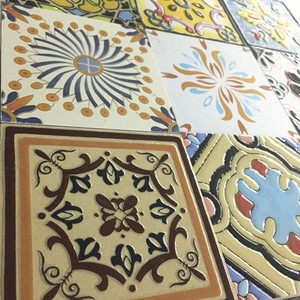 100x100 Floor and Wall Hand Painted Decorative tiles