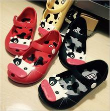 Mini Melissa Jelly Sandals For Baby Girls Boys Children Summer Cute Minnie Cartoon Beach Shoes 2015
