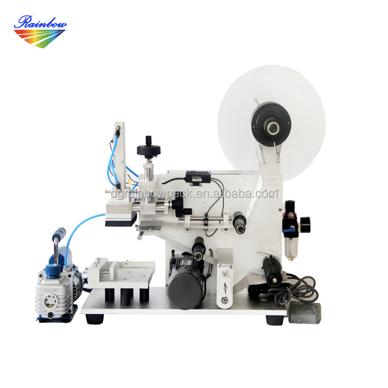 Lowest price pneumatic pet bottle sticker labeling machine