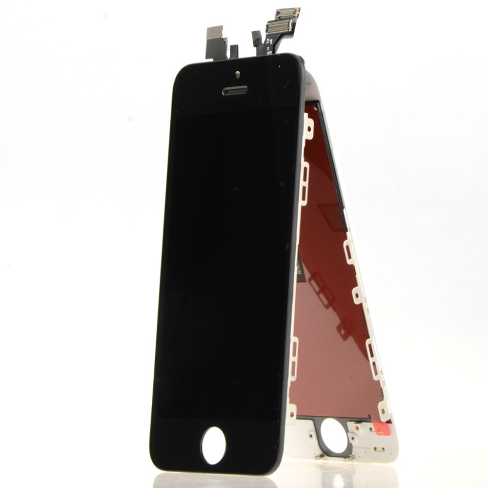 Hot Sale With free open tool Original LCD For iPhone 5S LCD Screen Display with Touch Screen Digitizer Assembly Black White Free
