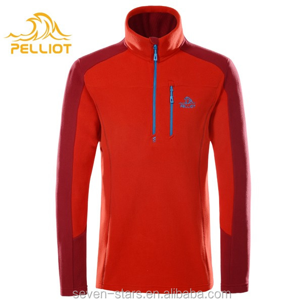 Custom Logo Fleece Jacket Zip Up Sports Fleece for Men