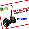 Portable electric chariot balance scooter style accessories 3-5H Charging Time and 2000w Power 72v electric chariot scooter