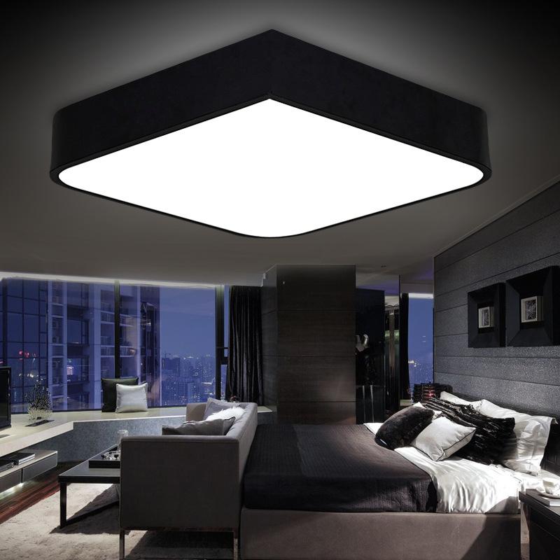 lamparas techo led para salon. Black Bedroom Furniture Sets. Home Design Ideas