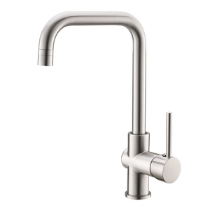 Newest brass stainless steel kitchen mixer faucet adjustable brushed nickel kitchen faucet