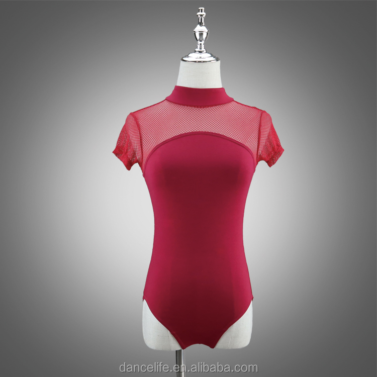 A2004 new adult sexy leotards for dance transparent leotard/ballet dance leotard/luxury ballet leotard