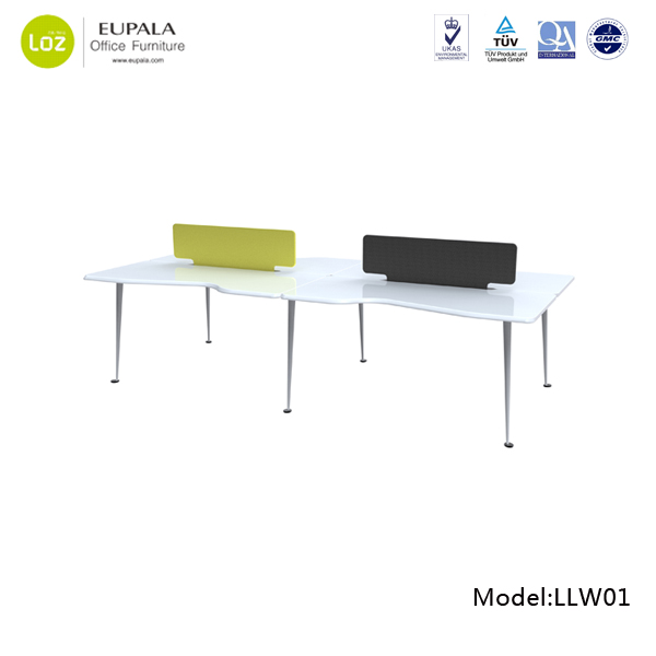 Hot Sale Modern Office Workstation 2 Person Office Desk   Buy Office  Desk,Desk,Computer Desk Product On Alibaba.com