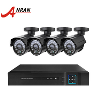4 Channel AHD CCTV Camera System 1080P DVR kit