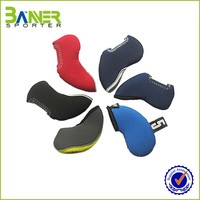 factory price best quality neoprene 10pcs golf head cover , head protector set