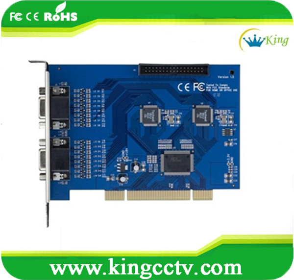 HK-6216S H.264 windows D1 Techwell 16 channel dvr card