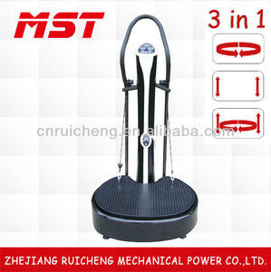 Newest exercise for vibration plate (3 in 1 fuction)