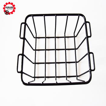 Wire Shopping Baskets   Wholesale Stacking Metal Wire Shopping Basket With Handle Buy