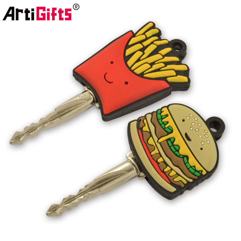 Wholesale Custom Design Your Own Bulk Cheap Silicone PVC Plastic Cartoon Car Key Cover