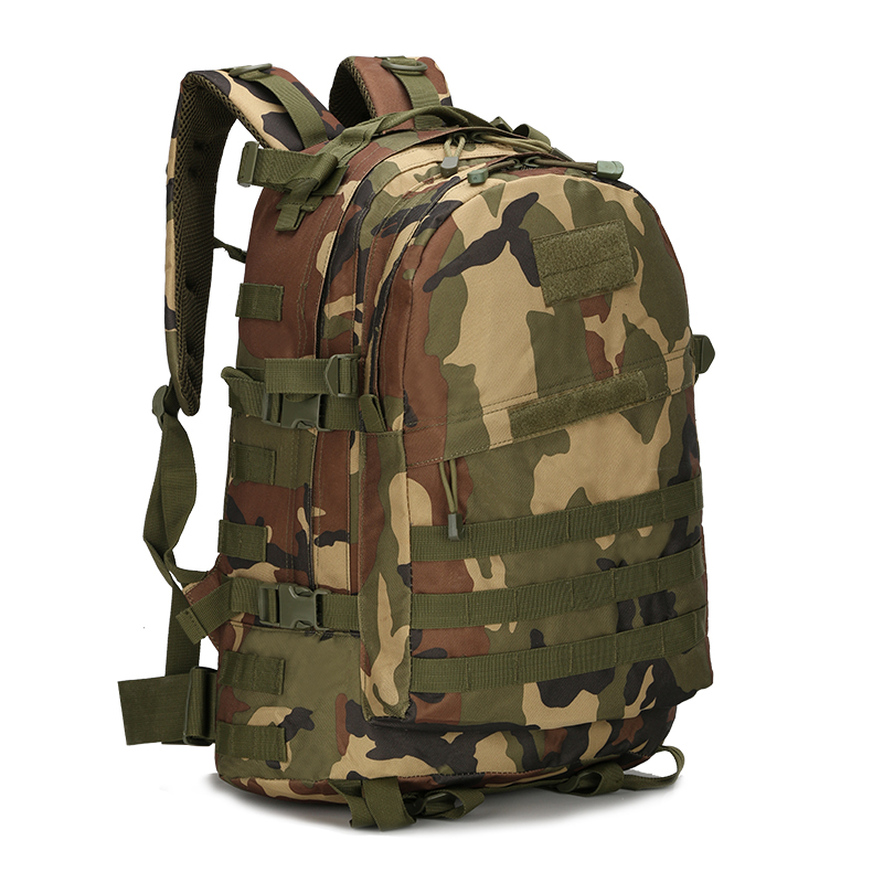Army Military Style Camouflage Camo Rucksack BackPack Bag