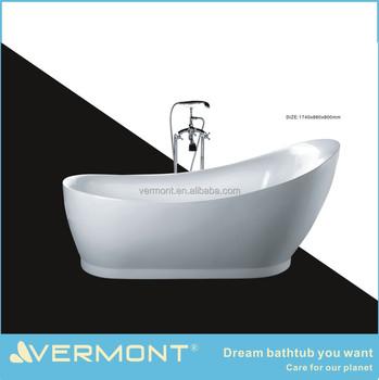 Cheap clear acrylic bathtub fiberglass bathtub buy clear for Best acrylic bathtub to buy