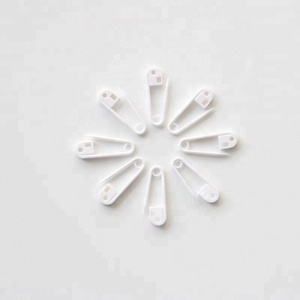 Excellent Quality 28mm White Color Plastic Safety Pin For Hang Tag