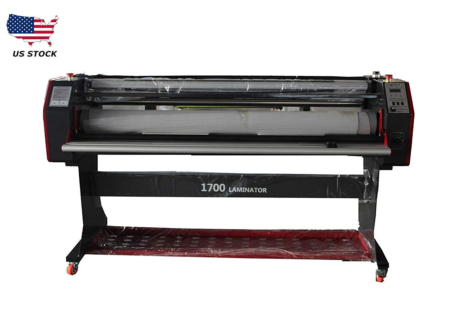 17 inch Digital Laminating Machine Hot Cold Roll Laminator with Single/&Dual Side