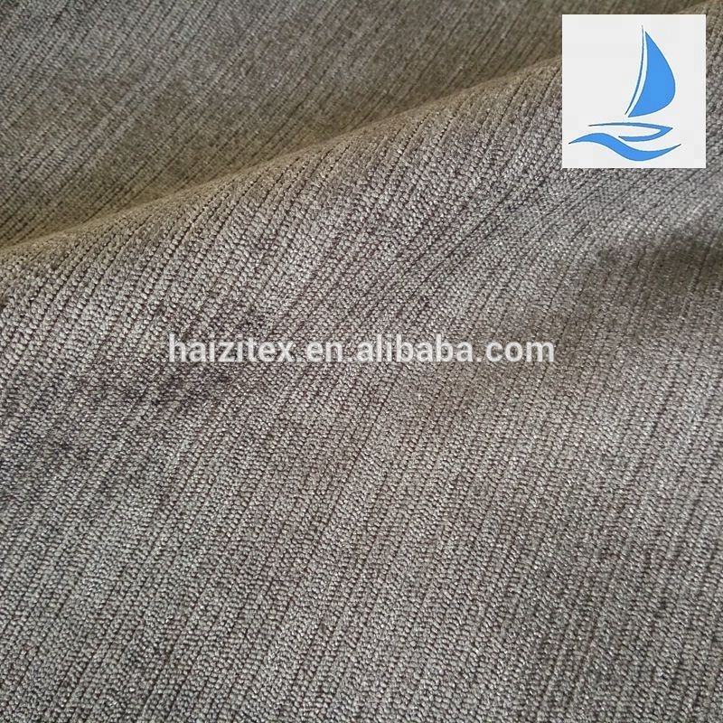 Online maket wholesale mix stripe grey corduroy fabric for Classic home textile