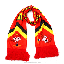 National Printed Football fan soccer scarf