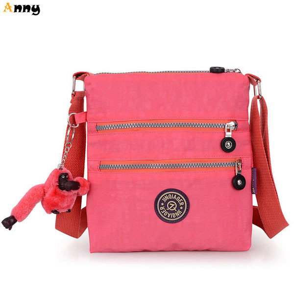 Get Quotations · ANNY-factory outlets womens famous brand bag with cute  monkey chain 16dab4669e