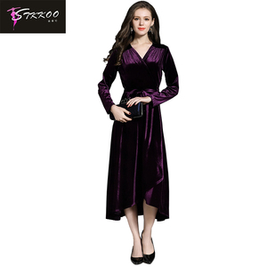 Plus Size Velvet Dress, Plus Size Velvet Dress Suppliers and ...