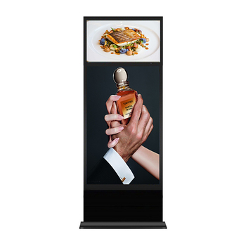 Twin Screen el display e ink billboard advertising 24 inch digital signage android os out of home electronic