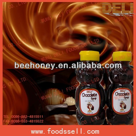 Offer High Quality Chocolate Syrup For tea/ Soda Water/Dessert