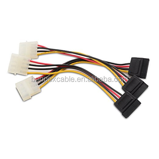 Cable Matters 4 Pin to SATA Power Cable Adapter