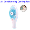 USB Rechargeable Mini Humidifier Mist Air Conditioning Cooling Fan