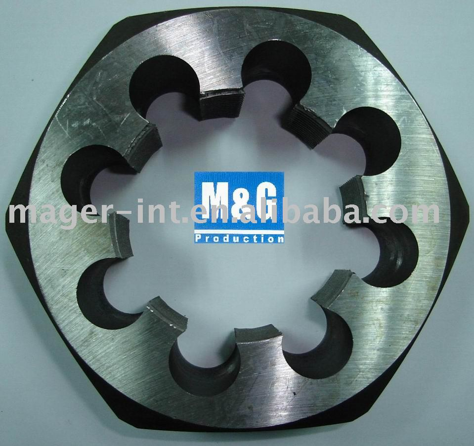 Alloy Steel and HSS HEX Dies.