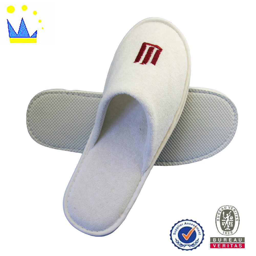 import slipper china wholesale low price disposable terry hotel slipper