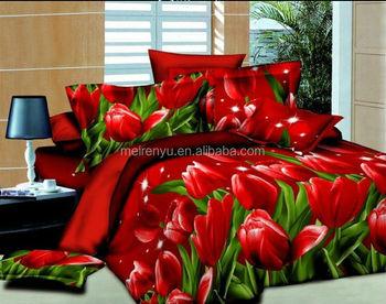 Marvelous 2015 New Flower Design For Tulip 3d Bed Sheets Set Wedding 3d Duvet Cover  Set