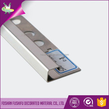 6mm to 12mm tiles accessories stainless steel decorative tile edge trim